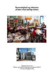 Rummelighed og inklusion af børn med særlige behov - Gladsaxe ...