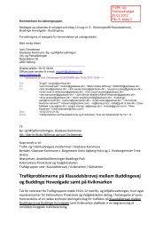 Kommentarer fra beboergruppen.pdf - Gladsaxe Kommune