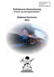 Risikobaseret dimensionering - Gladsaxe Kommune