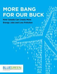 Download More bang for our Buck - Blue Green Canada