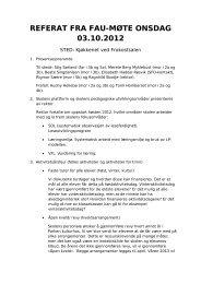 Referat 3 oktober 2012