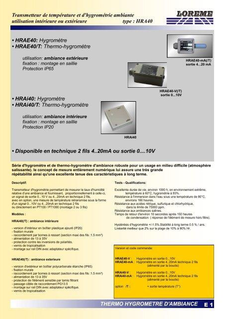 HRA40.pdf - LOREME
