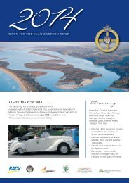 2014 Tour Brochure - All British Classics Car Club