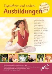 Ayurveda Ausbildungen - Yoga Vidya