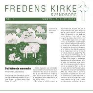 Kirkeblad nr. 1 2012 - Fredens Kirke