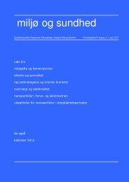 Miljø og sundhed, 18. årgang, nr. 1, april 2012. ( 2,37 MB)