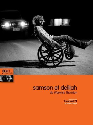 """n°73 : """"Samson et Delilah"""" - ACAP • Cinéma • Pôle Image Picardie"""