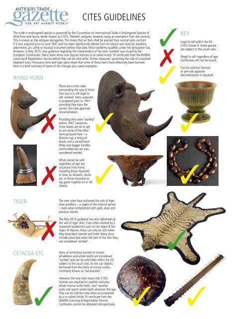 atg cites pdf - Antiques trade gazette