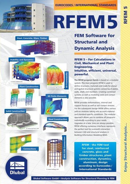 Flyer (PDF) - Dlubal Software