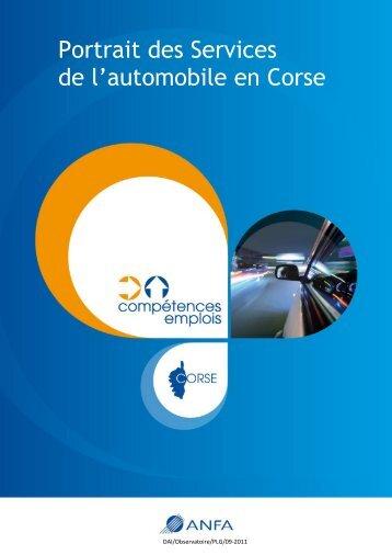 Portrait des Services de l'automobile en Corse - Anfa