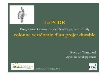 PCDR - colonne vertébrale d'Anthisnes - Habitreg.net