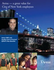 City of New York HMO and QPOS Plans