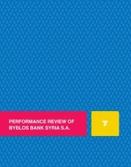Performance Review Of Byblos Bank Syria S.A. - 2013, July - (923 KB)