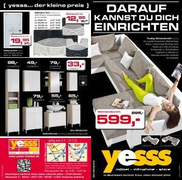19,95 - YESSS Möbel