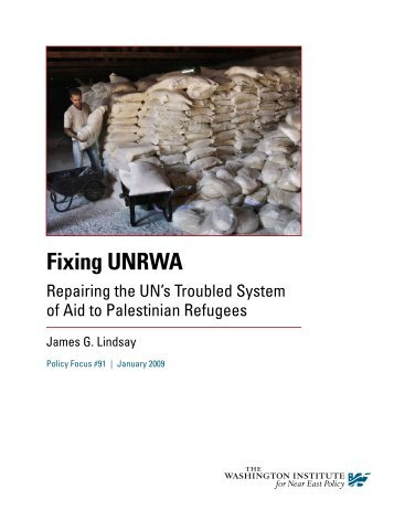 Fixing UNRWA - the Palestinian Refugee ResearchNet