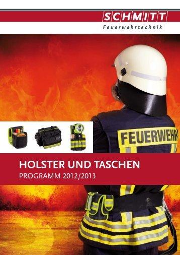 Holster und Taschen, Zubehör - Schmitt Feuerwehrtechnik