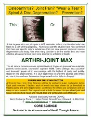 arthri-joint max - Your Health Store