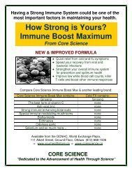 How Strong is Yours? Immune Boost Maximum - Your Health Store