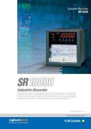 Broschüre SR10000 - Yokogawa