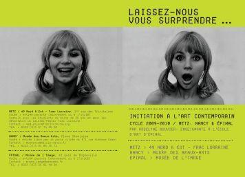 Programme des cours - FRAC Lorraine