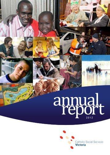 2012 - Catholic Social Services Melbourne