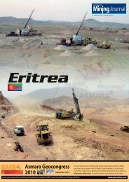 Asmara Geocongress 2010 - Embassy of The State of Eritrea