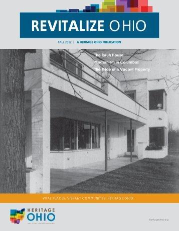 Fall 2012 - Heritage Ohio