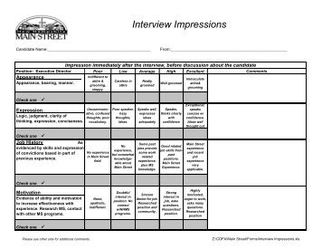 Perfect Interview Score Sheet Template Collection   Resume Ideas .