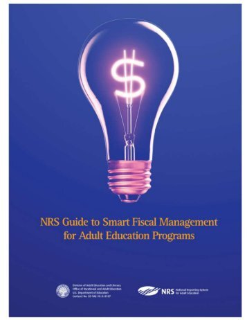 NRS Guide To Smart Fiscal Management - National Reporting System