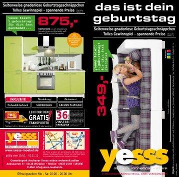 Seitenweise gnadenlose Geburtstags - yesss-moebel.de