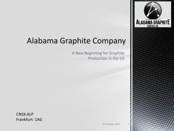 Alabama Graphite Company