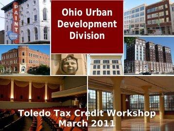 Ohio Urban Development Division - Heritage Ohio