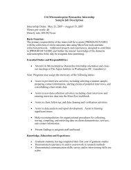 Citi Microenterprise Researcher Internship Sample Job ... - field
