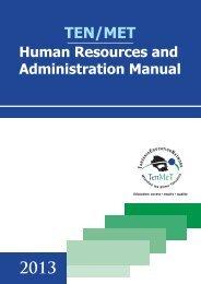 TENMET Human Resources & Administrative Manual - Tanzania ...