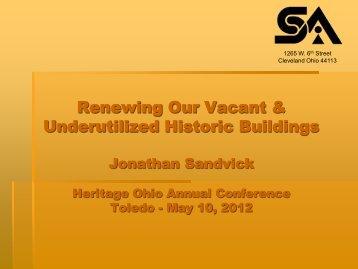 Jonathan Sandvick - Heritage Ohio
