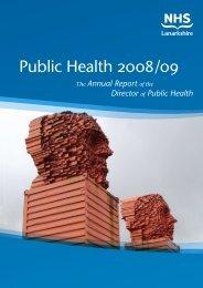 Public Health 2008 /09 - NHS Lanarkshire