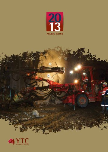 2013 Annual Report - YTC Resources