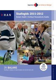 Studiegids 2011-2012 Studiegids 2011-2012 IN BALANS