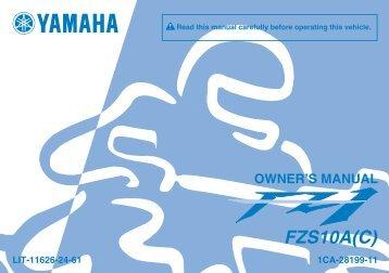 PERIODIC MAINTENANCE AND ADJUSTMENT - Yamaha