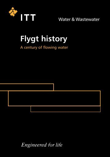 Flygt history - Water Solutions