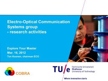 Electro-Optical Communication Systems group - Explore Your ...