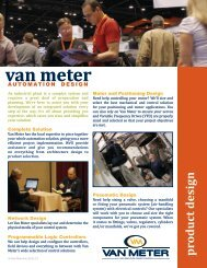 Automation Design - Van Meter Inc.