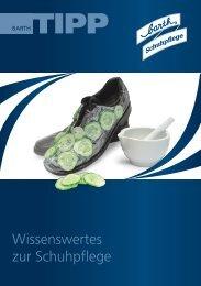 Wissenswertes zur Schuhpflege - Barth Schuhbandl GmbH