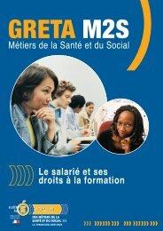 Le salarié et ses droits à la formation - greta m2s