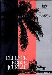 ISSUE 48 : Sep/Oct - 1984 - Australian Defence Force Journal