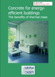 Concrete for energy- efficient buildings - Bygg uten grenser