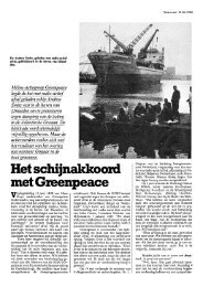 metGmenpeace - De geschiedenis van kernenergie in Nederland