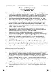 Resurssit-työryhmän työasiakirja - Forum