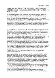 Persbericht VPRO-Argos [pdf] - De geschiedenis van kernenergie in ...