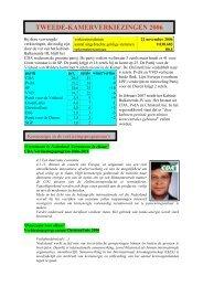 Verkiezingsuitslag en passages over kernenergie in de ...